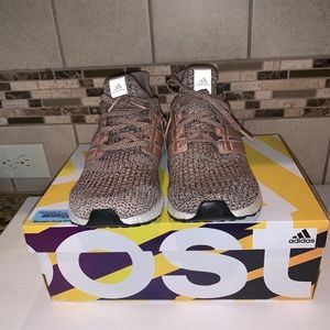 Adidas ultraboost brown/black 9.5 new